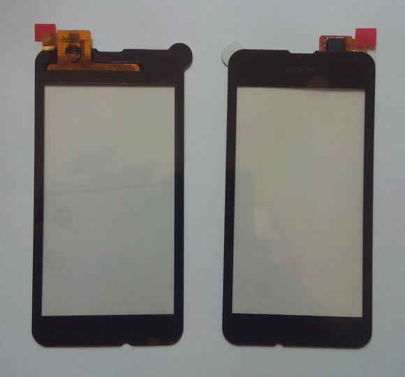 Nokia Lumia 530 сенсорний екран, тачскрін чорний