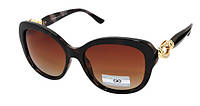 Солнцезащитные очки коричневые женские Eternal Polaroid