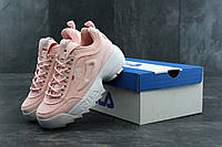 Кроссовки женские Fila Disruptor 2 pink