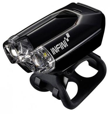 Мигалка передняя Infini LAVA I-260W-Black, 2 светодиода, 4 режима, USB кабель, с крепл.