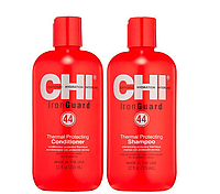 Набор для ухода за волосами с термозащитой CHI 44 Iron Guard