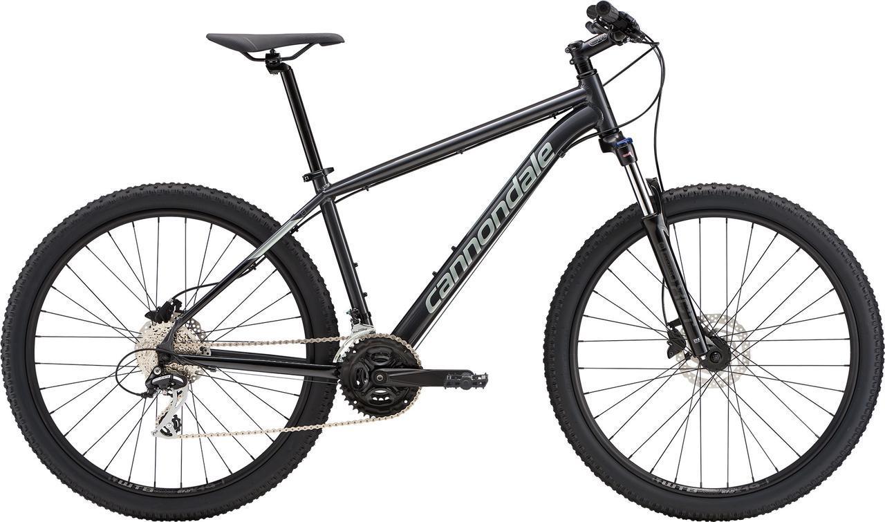 "Велосипед 27,5"" Cannondale CATALYST 1 рама - X 2019 GRA серый"