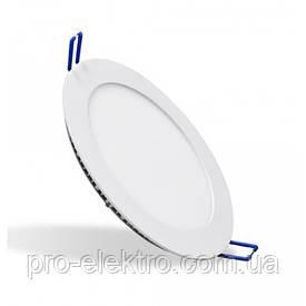Встраиваемый потолочный светодиодный LED светильник 12W круг 3000К ZL2004 Z-Light
