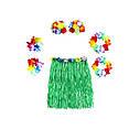 Карнавальный костюм Гавайский с короткой юбкой(40см) цвета ассорт., фото 3