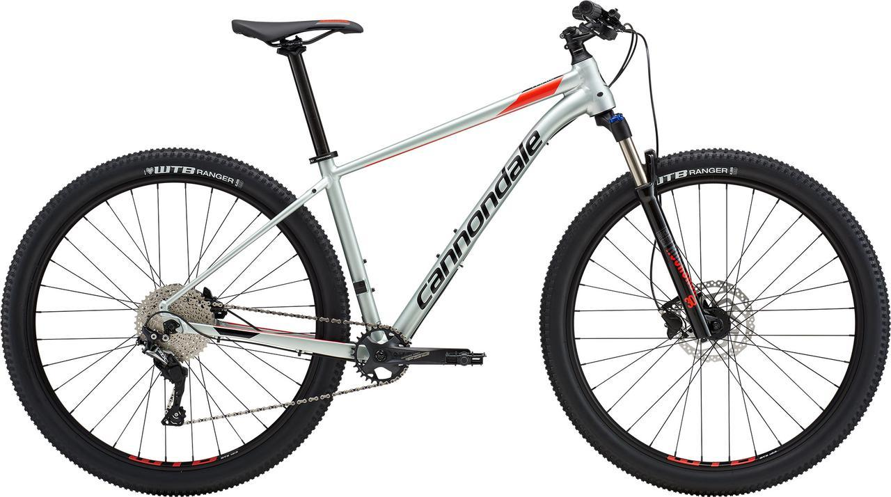 "Велосипед 29"" Cannondale TRAIL 4 рама - X 2019 SGG серый"