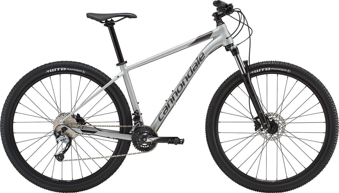 """Велосипед 29"""" Cannondale TRAIL 6 рама - M 2019 SLV серебристый"""