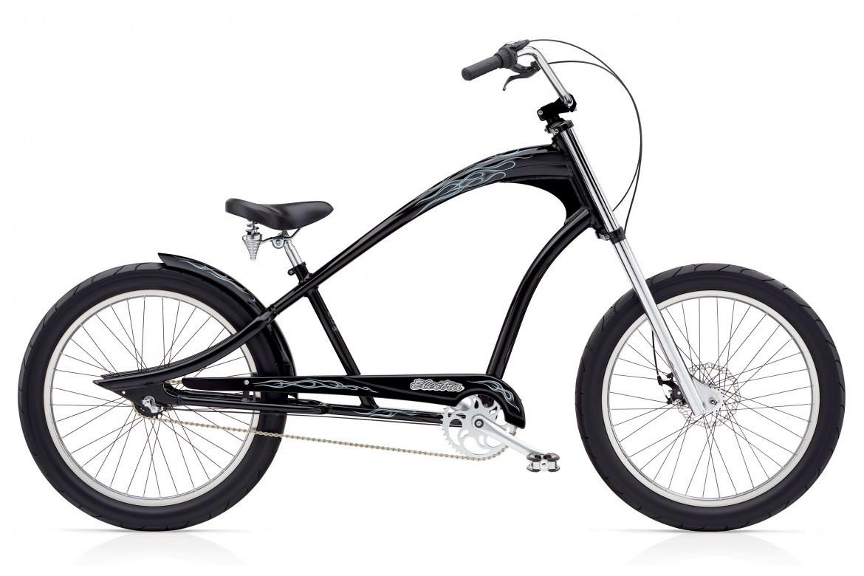 "Велосипед 24"" Electra Ghostrider 3i (Alloy) Men's Black"