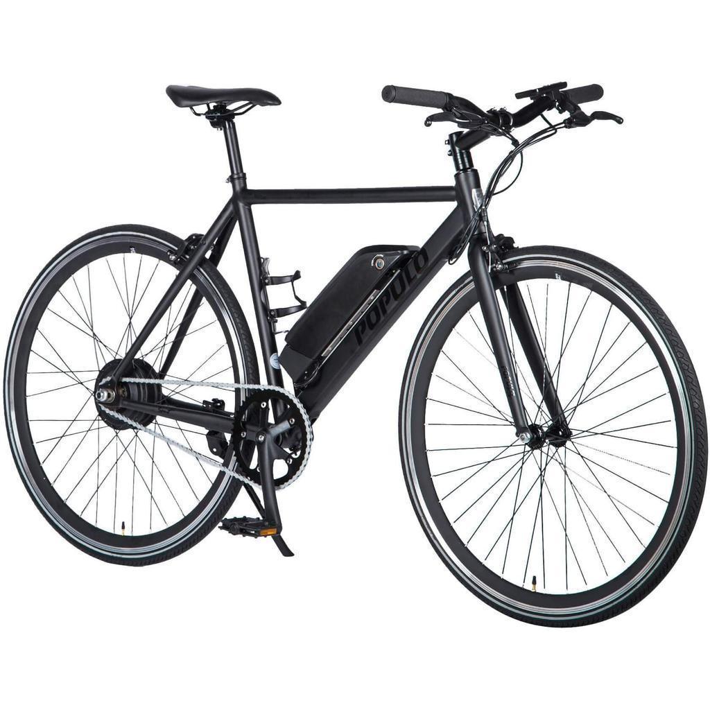 """Велосипед 28"""" Populo Sport V2 электро привод 250W Black размер 49cm (XS)"""