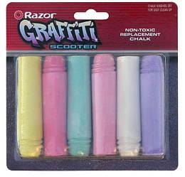 Картридж д/самоката Razor Chalk Replacement (графити 6шт)