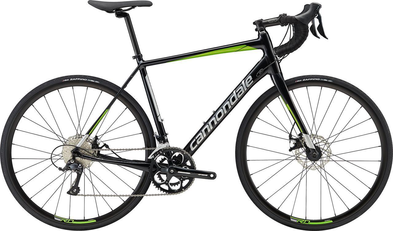 "Велосипед 28"" Cannondale SYNAPSE Disc Sora рама - 58см 2019 AGR черно-зелёный"