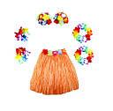 Карнавальный костюм Гавайский с короткой юбкой(40см) цвета ассорт., фото 4
