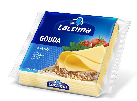 Сыр Lactima Gouda 130 гр. Польша