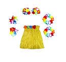 Карнавальный костюм Гавайский с короткой юбкой(40см) цвета ассорт., фото 5