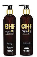 Набор для восстановления волос (большой) CHI ArganOil