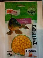 Наживка GRIZZLY  Puffi ( Мёд) мини 30 гр.