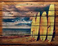 Картины на дереве и досках под заказ в стиле лофт, поп-арт или с вашим фото 180х120см - 4300грн