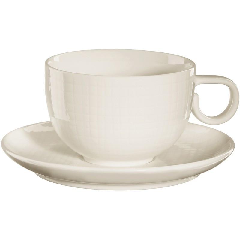 Чашка с блюдцем Asa Voyage Vanilla 200 мл 15021140