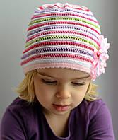 Ажурная шапочка для девочек.Хлопок.
