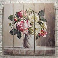 Картины на дереве и досках под заказ в стиле лофт, поп-арт или с вашим фото 180х180см - 6400грн