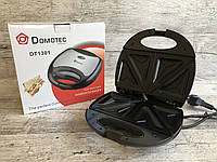 Бутербродница сэндвичница DOMOTEC DT-1301 750 Вт на 4 отделения