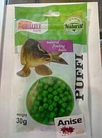 Наживка GRIZZLY  Puffi ( Анис) мини 30 гр.