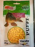 Наживка GRIZZLY  Puffi ( Ваниль) мини 30 гр.