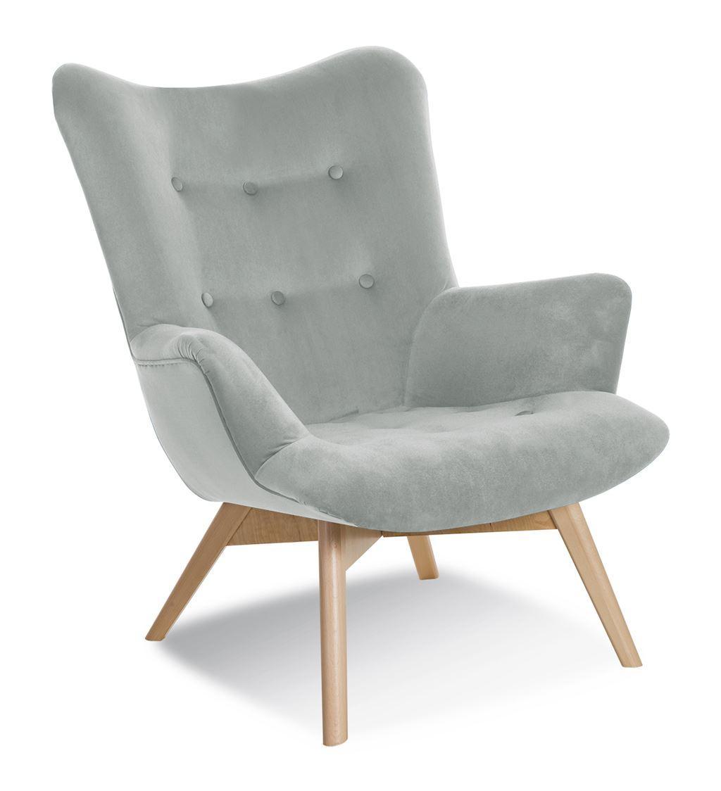 Кресло Angel Atreve Светло-серый