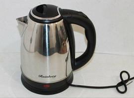 Электрочайник Rainberg RB-804 дисковый нагреватель чайник стальной