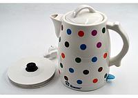 Чайник Domotec MS-5060 (2 л / 1500 Вт) керамический Домотек , фото 1