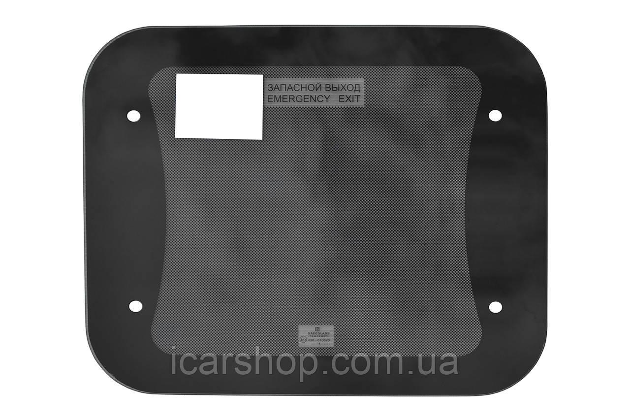 Скло для вентиляційного скляного люка 76x61 SafeGlass