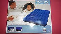 Надувной матрас INTEX ( 1.37м*1.91м*22см ).