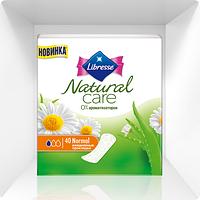 Прокладки ежедневные гигиенические Libress Natural Care Normal, 40 шт