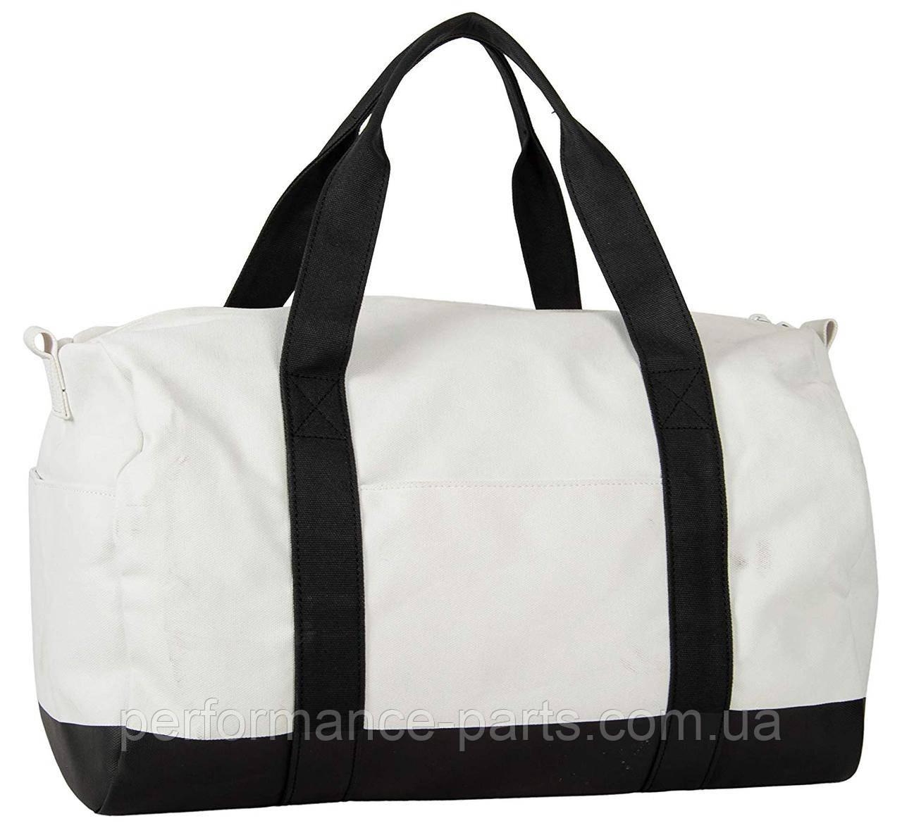 Спортивная сумка MINI Duffle Bag Colour Block, White/Black  80222445671