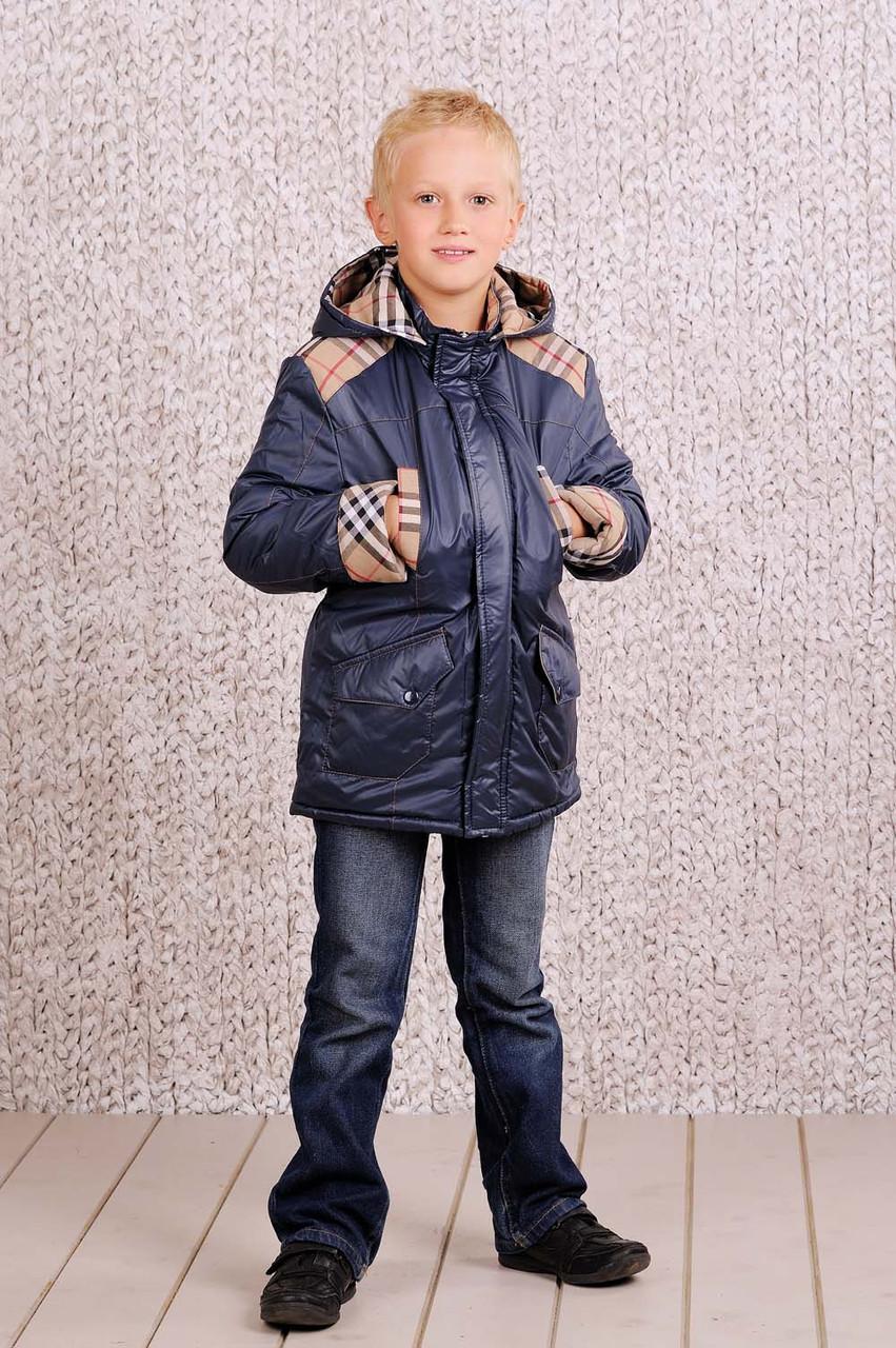 Куртка парка на синтепоне для мальчика