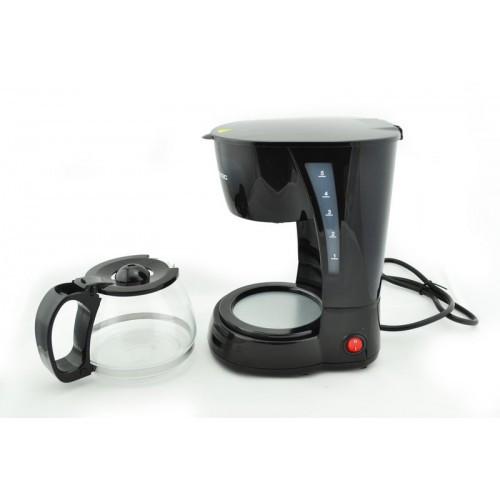 Кофеварка Domotec MS 0707 компактная для домашнего использование апарат для кофе
