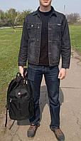 Пиджак джинсовый черный мужской