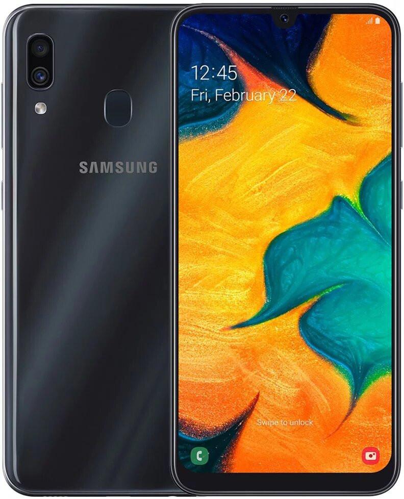 Сенсорный мобильный телефон Samsung A305F ZKU (Black) 64GB
