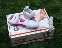 Пилка эпилятор Gemei GM 3065 на батарейках для ног женская от огрубевшей кожи, фото 1