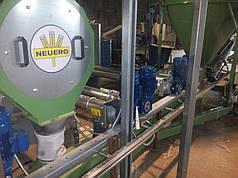 Молотковая дробилка зерна  RVO 852 производительностью до 5,7 т/час