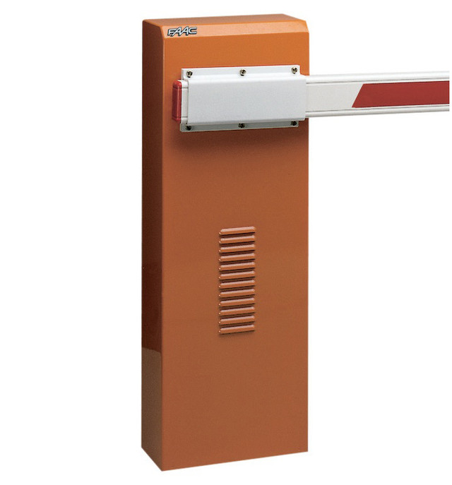 Стойка гидравлического шлагбаума 640 Rapid LH с встроенным блоком управления 624 BLD, время открытия 4 сек, интенсивность 100 %