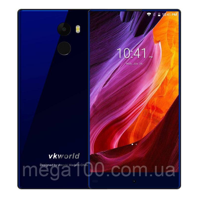 Смартфон Vkworld Mix Plus синий (экран 5,5 дюймов, памяти 3/32, емкость акб 2850 мАч)