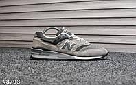 Мужские кроссовки New Balance 997 Gray, Реплика, фото 1
