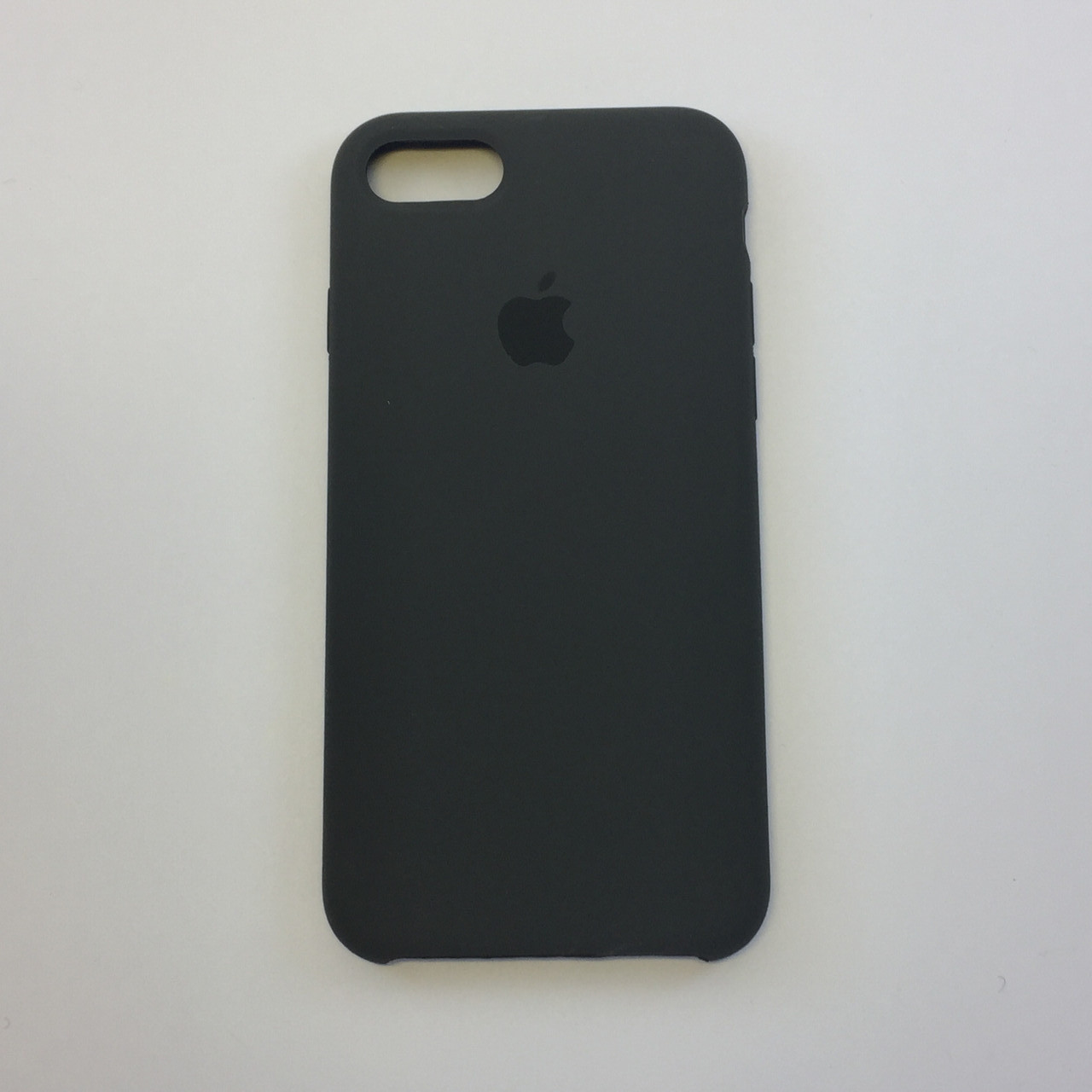 "Чехол - Silicon Case для iPhone ""Темно-коричневый - №22"" - copy orig."
