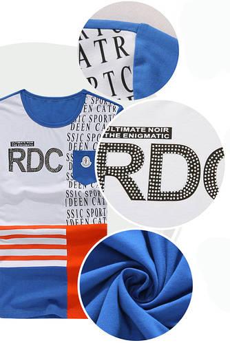 Модная футболка 3 размера, фото 2