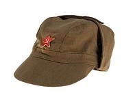 Кепка солдатская - афганка со звездой СССР