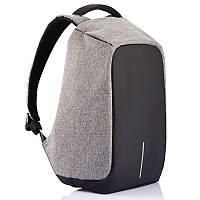 Городской рюкзак-антивор XD Design Bobby XL, с USB портом, влагозащищенный, 15л