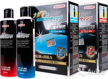 Жидкое стекло для машины Willson Taiyoko Coat 300 мл защитное покрытие для кузова автомобиля, полироль