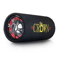 "6"" Активный сабвуфер бочка CROWN 200W + Bluetooth"