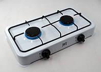 Плита D&T DT-6032 газовая таганок на 2 конфорки переносная компактная удобная, фото 1