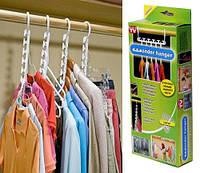 Вешалка органайзер для одежды Winder Hanger (держатель для плечиков) - 8 шт, фото 1